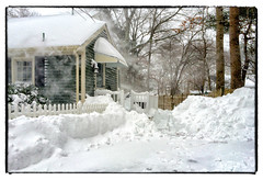 Digging Out (Timothy Valentine) Tags: b snow home unitedstates massachusetts w s blizzard 0115 2015 eastbridgewater datesyearss