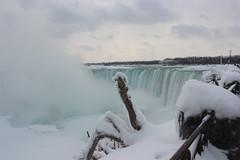 Niagara Falls Canada (mark the chopper) Tags: winter canada ice river niagarafalls waterfall horseshoefalls