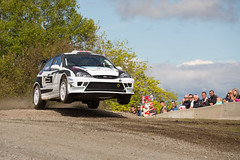 Jump ! (sdhweb) Tags: cars car sport norway drive jump driving cross action rally revs engine fast competition tires motor gravel tyre rallye exciting motorsport recounter