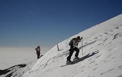 Ski At Tochal, Pro ($ALEH) Tags: winter light mountain snow ski sport day iran sunny tehran   tochal