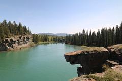 Bow river hike Seebee Alberta Canada (davebloggs007) Tags: canada river hike alberta bow seebee