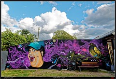 Artists: ZS and Leim from Tarragona (pharoahsax) Tags: world street urban bw streetart get art colors wall writing germany painting deutschland graffiti artwork mural paint artist kunst tag tags spray peinture urbanart painter writer graff zs baden karlsruhe ka legal spraycan wrttemberg sden pmbvw worldgetcolors