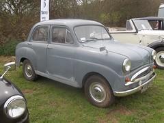 1955 Standard 10 (occama) Tags: old uk 1955 car grey cornwall 10 small ten british standard 402uxg