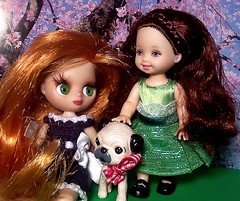 Blythe-a-Day May: With a Little Help from My Friends: Ginnie & Kelly