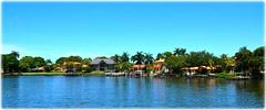 Snell Isle - St Petersburg, Florida (lagergrenjan) Tags: snell isle community st petersburg florida docks boats houses