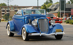 1934 Ford Cabriolet (RudeDude2140a) Tags: blue hot classic ford car convertible rod 1934 cabriolet