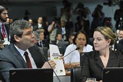 CEI2016 -  Comisso Especial do Impeachment 2016 (Senado Federal) Tags: braslia brasil df bra documento reunio ponteparaofuturo senadorlindberghfariasptrj senadoragleisihoffmannptpr comissoespecialdoimpeachment cei2016