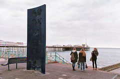 029_29 (craylton) Tags: ocean girls friends sea beach pier brighton palace monolith groyne