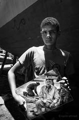 Mirror reality (karimahmed1) Tags: new portrait people bw blakandwhite photography mirror photo nikon egypt egyptian reality