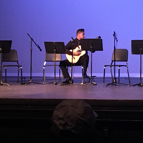 Classen SAS Guitar Concert - Brandon by Wesley Fryer, on Flickr