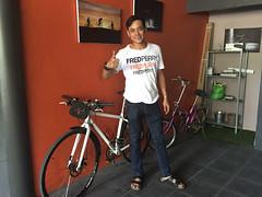 Ban Chang, Thailand (Quench Your Eyes) Tags: travel thailand cafe asia southeastasia cyclist coffeeshop thai rayong biketour bicycleshop banchang bicyclecafe tessaban31road