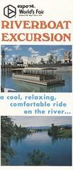 Riverboat Excursion at Expo '74 - Spokane, Washington (The Cardboard America Archives) Tags: vintage 1974 boat washington spokane brochure worldsfair expo74