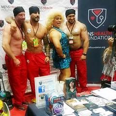 LACON4 (danimaniacs) Tags: man hot sexy guy smile tattoo beard drag muscle muscular hunk dragqueen stud scruff friedalaye rupaulsdragcon