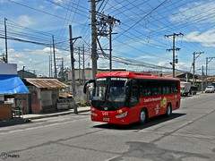 Land Car, Inc. 186 (Monkey D. Luffy 2) Tags: road bus public philippines transport vehicles transportation daewoo vehicle society tr philippine enthusiasts philbes bs090