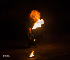 Fire eater 1 (DarekPhotography) Tags: fire feuer fireeater feuerschlucker