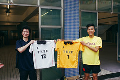 Our former jerseys (Alan P. in Hong Kong) Tags: sony a65 documentary hongkong city life volleyball