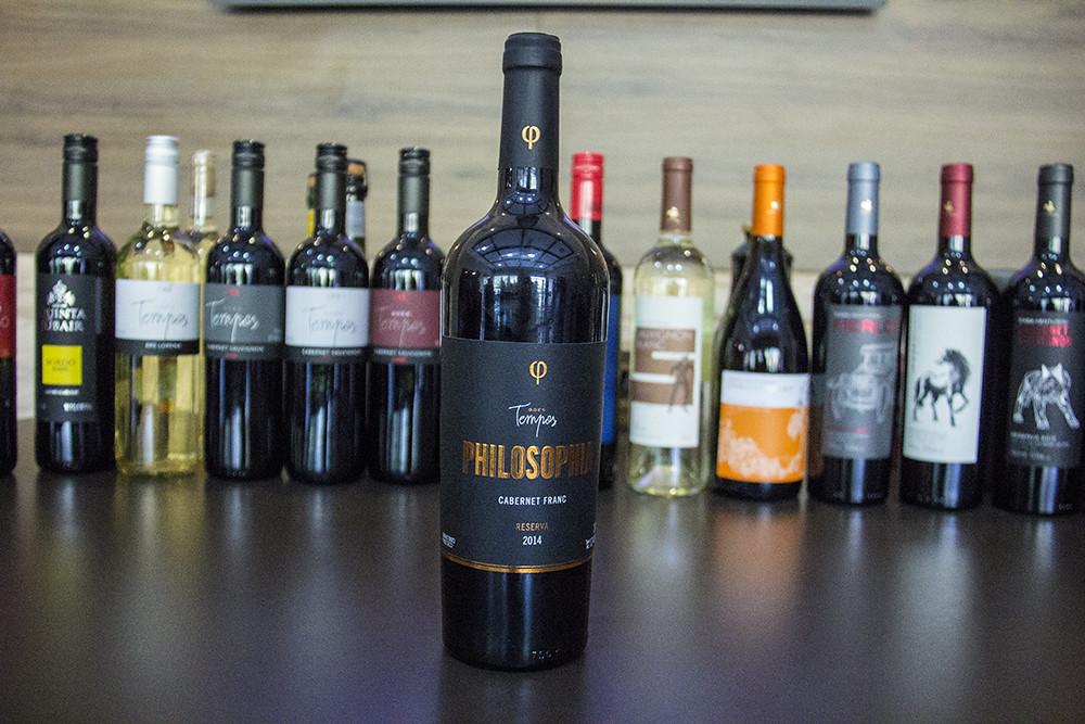 Vinícola Goes - vinhos da casa com destaque para o premiado Philosophia