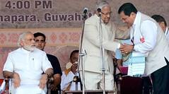 Sarbananda Sonowal (BJP) sworn in Assam CM (Punjab News) Tags: news punjab