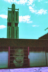 Uptown (hpaton1) Tags: film analog purple charlotte canonef2470mmf28l canoneos1v lomochrome
