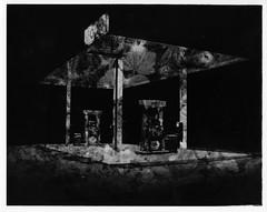 (bhkuist) Tags: white black film station darkroom 35mm paper photography photo nikon exposure kodak 14 x double system gas foliage negative multiple nikkor process tri enlarger sprint ilford fm3a alternative chemical ais