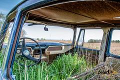 Old Studebaker near Kewaunne, Wisconsin (Peter Ciro Photography) Tags: wisconsin studebaker oldcars doorcounty algoma