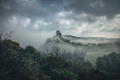 staring into the land of the dragons (stocks photography.) Tags: castle castles photography photographer dragons stocks dorset corfe corfecastle stocksphotography michaelmarsh