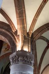 Colonnes Reinacker-101 (MMARCZYK) Tags: france architecture alsace glise gothique 67 voute basrhin xve gilge ludeman gilgeludeman