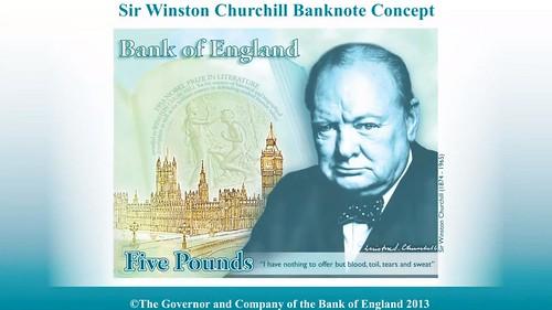 Sir Winston Churchill Banknote