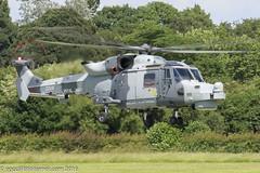 ZZ535 - 2016 build Westland Wildcat HMA.2, part of the RN Display Team the Blackcats (egcc) Tags: manchester helicopter barton wildcat westland blackcats rn lightroom royalnavy cityairport 537 agustawestland egcb hma2 zz535