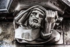 (SMB-PHOTOGRAPHIC) Tags: statue stone belgique head pierre gargoyle gargoyles glise gothique mascaron gargouille gand tte gargouilles