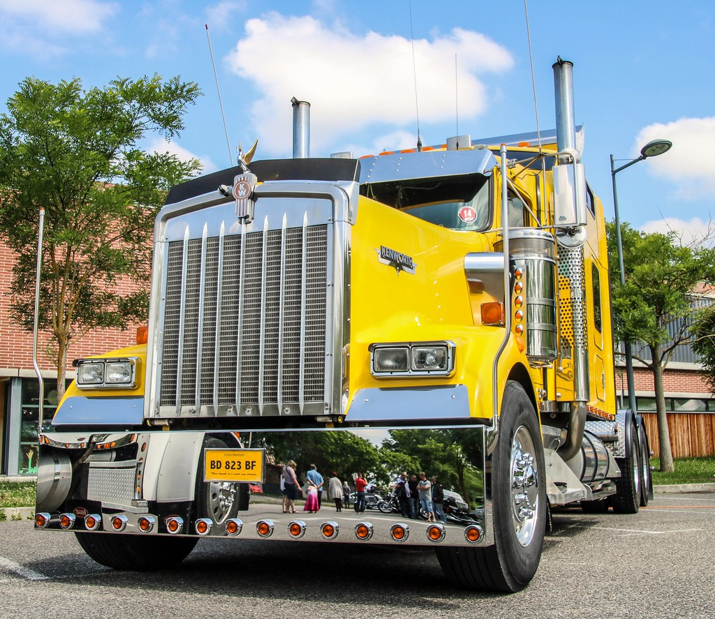 The world 39 s best photos of france and kenworth flickr - Camion benne americain ...