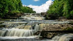 Aysgarth Falls (lee adcock) Tags: yorkshire yorkshiredales aysgarthfalls nikon1685 nikond5300