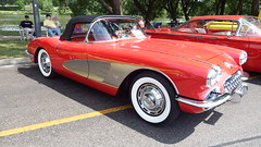 1959 Chevrolet Corvette (AAR-Cuda340) Tags: cars chevrolet chevy musclecars corvette carshow stratford 1959 chev