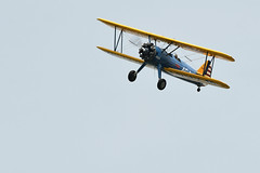 Boeing N2S-3 Stearman N747RB (albionphoto) Tags: usa reading kate pa b17 worldwarii mosquito corsair boeing mustang fifi dday flyingfortress stearman b29 superfortress maam dehavilland p51d n2s3 n747rb