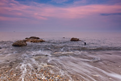 Seaham sunset swirl. (paul downing) Tags: sunset misty nikon waves northsea 12 filters hitech seaham codurham gnd chemicalbeach pd1001 pauldowning d7200 pauldowningphotography