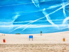 The beach and the sky (peterpj) Tags: sky beach canon landscape lucht landschap starnd g1x kennemerduinenholland
