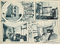 Grand Central Hotel, Maitland, N.S.W. (maitland.city library) Tags: maitland newsouthwales beautiful sydney fertile west newcastle coalopolis george robertson 1896 university california libraries grand central hotel hotels pubs bars davis dining room