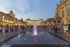 nuove fontane (Havebug) Tags: torino piazzacastello