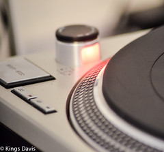 'Spin' (Flip the Script) Tags: spin deck technics dj culture gadget vinyl turntable steel record records travel disco party professional photography journalist album sleeve color clour design engineering