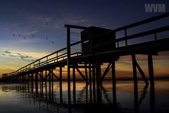 Trapiche Laranjal (wagnerm25) Tags: laranjal lake landscape lagoon light lagoa landmark lagoadospatos lago pelotas pier postcard twilight trapiche tourism dock deck dusk down dark sunset sunrise sun sea shore sky shadow seashore