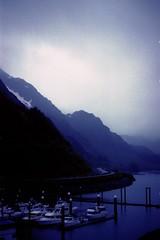 Ketchikan (nicool13) Tags: ocean blue film nature water alaska 35mm boats provia 100f nglenn