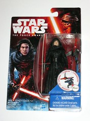 star wars the force awakens first order kylo ren unmasked build a weapon snow mission basic action figure hasbro 2016 mosc 2a (tjparkside) Tags: snow star force action robe 5 7 disney seven weapon points figure mission ren hood cloak lightsaber wars build poa figures basic episode ep lightsabers vii hasbro robes baw unmasked 2016 tfa 2015 articulation awakens kylo buildaweapon