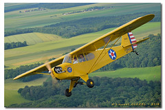 CAF French Wing - Fly'In 2016 (Laurent CLUZEL) Tags: bw french cub nikon force jeep anniversary air north 1940 wing nb american 28 piper 70200 caf 20th willys flyin commemorative 40s t6 snj j3 d610 vrii lfpp