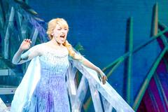 Elsa Hits the Crescendo (chipanddully) Tags: frozen disney dca elsa californiaadventure letitgo hyperiontheater queenelsa liveatthehyperion