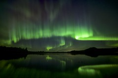 Balance and mood (John Andersen (JPAndersen images)) Tags: sky reflection night aurora mothersday madden