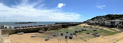Harbour panorama at Mousehole (oh.suzannah) Tags: boats harbour seascape sky cornwall