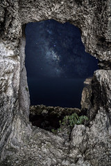 Window to the Skies (McCarthy's PhotoWorks) Tags: wallpaper sky cliff nature rock landscape star background space malta galaxy nebula astrophotography astronomy nightsky messier outerspace heavens cosmic starry cosmos bronzeage astrophysics punic milkyway starfield dingli nebulae astrometrydotnet:status=failed gebelciantar