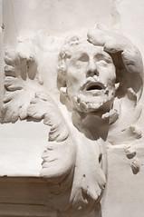 Elemento de La puerta del Infierno con la Cabeza de San Juan Bautista (roshua_quest) Tags: plaza sculpture art mxico arte escultura museo mx rodin auguste carso ciudaddemxico soumaya