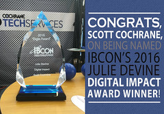 Scott-Cochrane-with-Cochrane-Supply-Wins-IBcon-Digital-Impact-Award (Building Automation | IoT | Smart Buildings) Tags: iot internetofthings buildingautomation buildingcontrols bas buildingintegration ibcon ibcon2016 smartbuilding smartbuildings intelligentbuilding intelligentbuildings hvac hvacsupply hvaccontractor cochranesupply madisonheights siliconvalley realcomm realcomm2016 engineer engineers hvaccontractors facilitymanagement fms