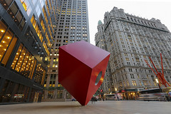 Now Following... Red Cube & Broadway!! (Following NYC) Tags: nyc newyorkcity ny newyork lights nycphotobloggers